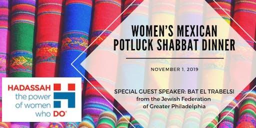 Women's Mexican Potluck Shabbat Dinner