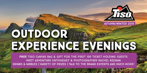 Tiso Edinburgh AW19 Outdoor Experience Evening