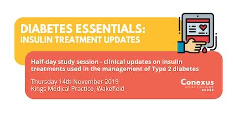 Diabetes Essentials: Insulin Treatment Updates tickets