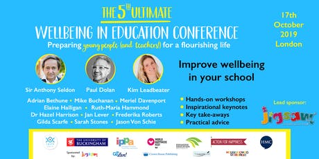 The 5th Ultimate Wellbeing In Education Conference tickets