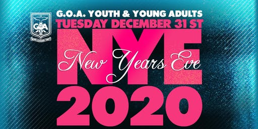 G.O.A. New Years Eve Youth & Young Adults Party