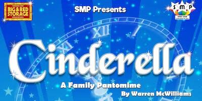 SMP Presents - Cinderella, a family pantomime.
