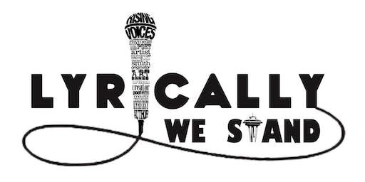LYRICALLY WE STAND