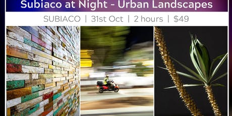Night-time Subiaco - Urban Photography Walk tickets