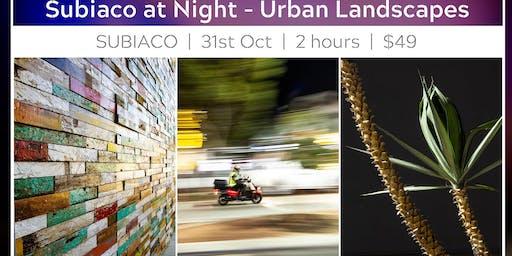 Night-time Subiaco - Urban Photography Walk