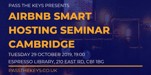 Airbnb Smart Hosting Seminar - Cambridge