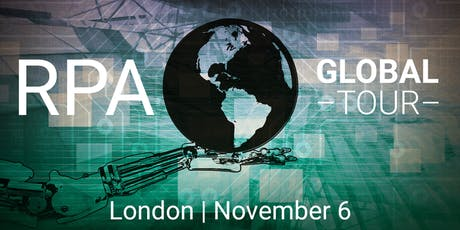 2019  RPA Global Tour - London tickets