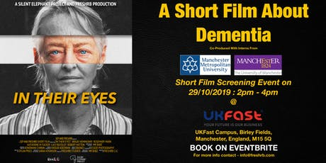 Dementia Awareness Fictional Short Film Event - In Their Eyes tickets