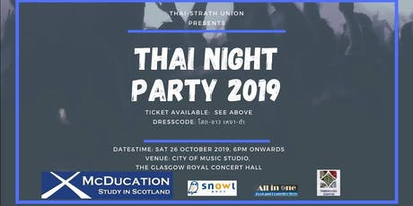 Thai Night Party 2019 tickets
