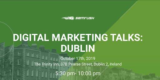 DIGITAL MARKETING TALKS: DUBLIN