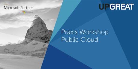 Praxis-Workshop: Datenhaltung in der Schweiz mit Microsoft Azure Tickets