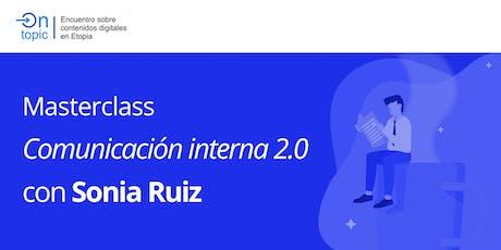 On Topic: Comunicación interna 2.0 entradas