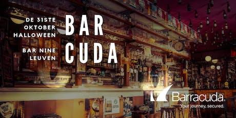 Bar-Cuda Halloween party @ Bar Nine in Leuven op 31 oktober 2019 tickets