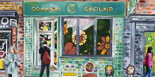 Michelle Taube Art Exhibition & Poetry Evening at Common Ground