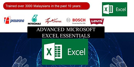 Microsoft Excel Essentials Training -Intermediate to Advanced tickets