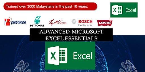 Advanced Microsoft Excel Essentials Training
