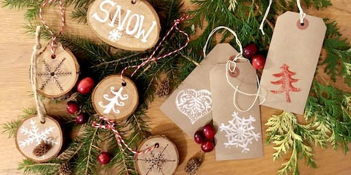 Handcrafted Natural Christmas Decorations &  Candle Workshop