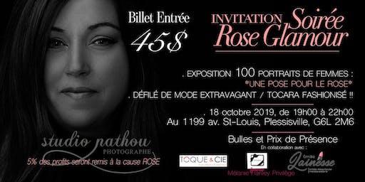 Soirée ROSE Glamour