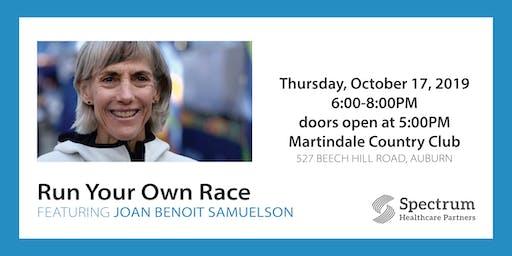 Run Your Own Race - An Evening with Joan Benoit Samuelson