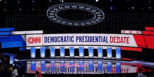 DoTheMostGood DNC Debate Watch Party October 15