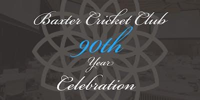Baxter Cricket Club - 90th  Year Celebration