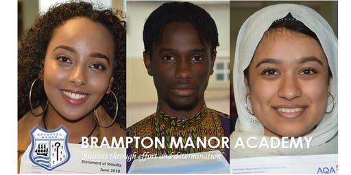 Brampton Manor Sixth Form Open Evening 2019 - Wednesday 20th November