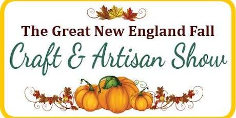 GREAT NEW ENGLAND FALL CRAFT & ARTISAN SHOW tickets