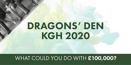 Dragons' Den KGH 2020 tickets