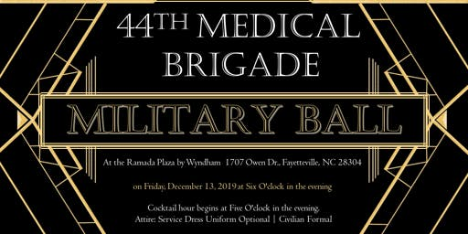 44th Medical Brigade Military Ball