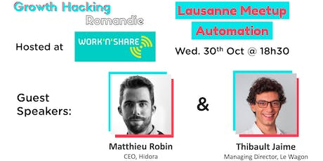Growth Hacking Lausanne: Automation billets
