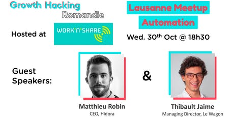 Growth Hacking Lausanne: Automation Tickets