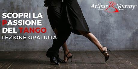 Scopri la passione del Tango Argentino - Lezione Gratuita biglietti