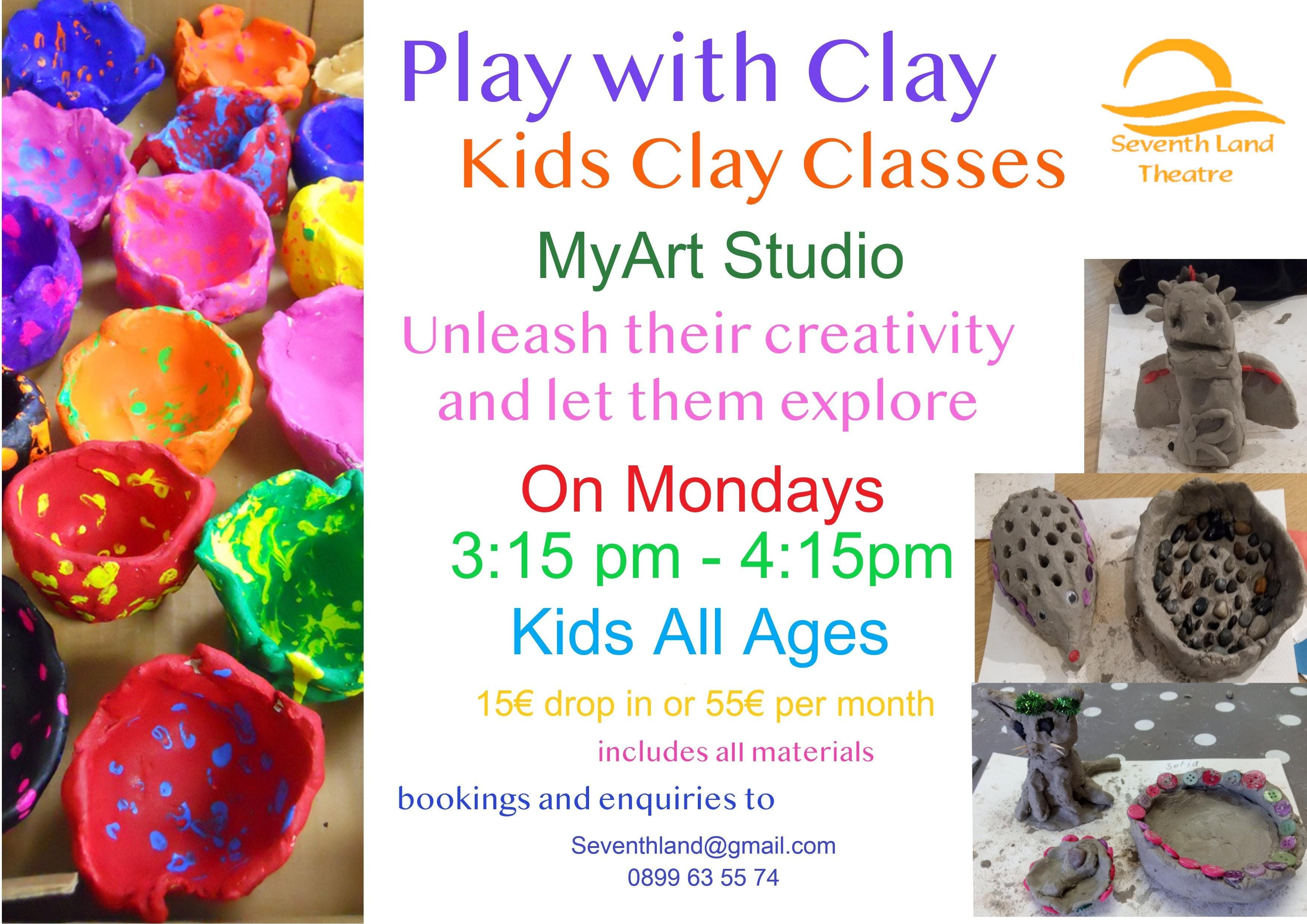 Pottery for kids and Juniors
