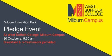 Milburn Innovation Park: Pledge Event tickets