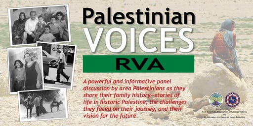 Palestinian Voices RVA