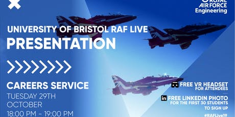 RAF LIVE PRESENTATION - University of Bristol tickets