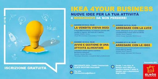 IKEA 4YOUR BUSINESS · Nuove idee per la tua attività