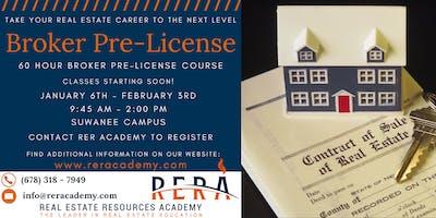60 HR Broker Sales-Pre-license course