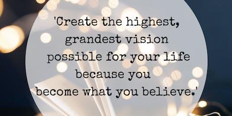 CRÉEZ & VISUALISEZ votre VIE / CREATE & VISUALISE your LIFE  billets