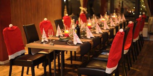 Weihnachtsfeier am Abend