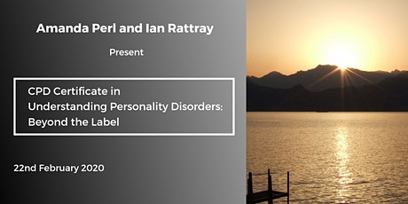 CPD Certificate in Understanding Personality Disorders: Beyond the Label tickets