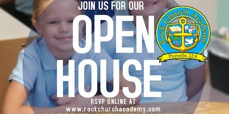 Rock Church Academy: Fall Open House tickets