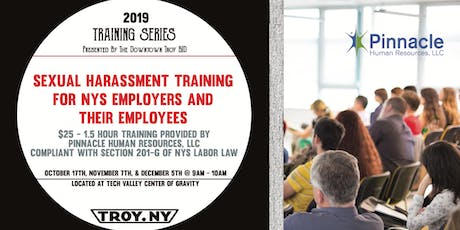BID TRAINING SERIES: Monthly Sexual Harassment Training tickets