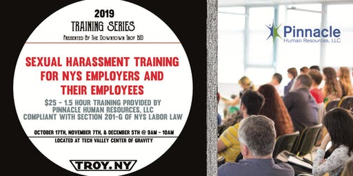 BID TRAINING SERIES: Monthly Sexual Harassment Training