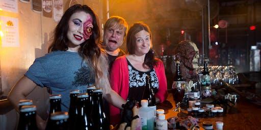 REVENGE of the How To Halloween Makeup Workshop