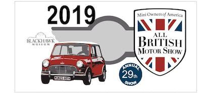 2019 MOASF - Blackhawk All British Motor Show