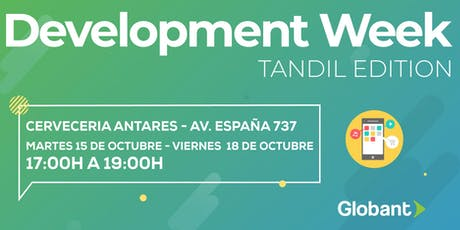 Development Week Tandil entradas