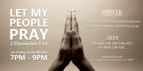 Let My People Pray tickets