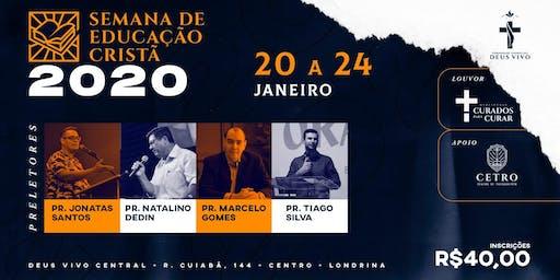 SEMANA DE EDUCAÇÃO CRISTÃ 2020