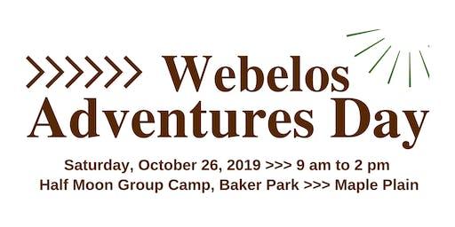 Cub Scouts Webelos Adventures Day